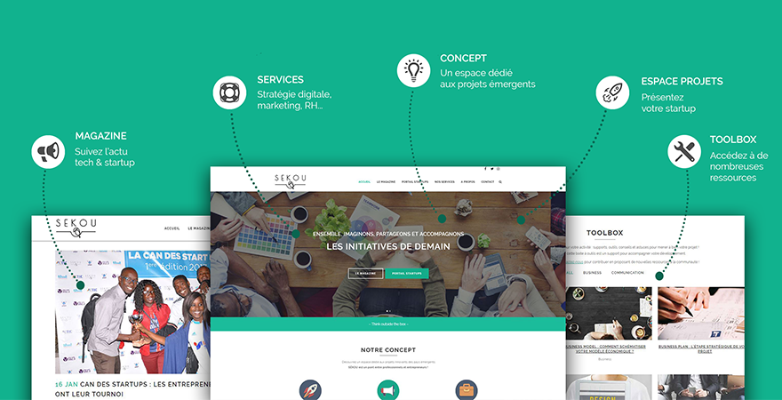 Lancement du portail Startups