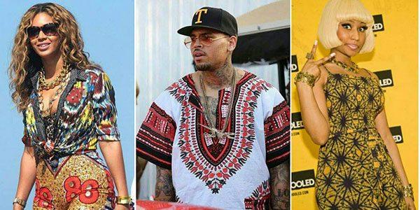 """""""Beyoncé, Chris Brown, Nicki Minaj : ils sont tous fans de wax !"""" (article Trace)"""