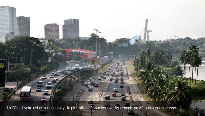 l'investissement à Abidjan est en pleine croissance.