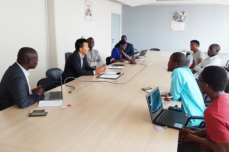Mentor Day avec Teranga Capital, Orange Fab Sénégal.
