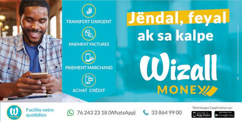 Le wallet money de Wizall