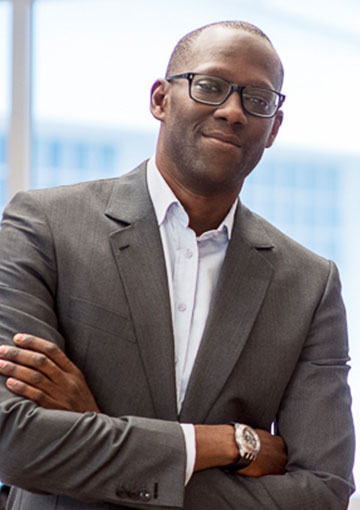 Photo de Cham Diagne, fondateur de Talent2Africa