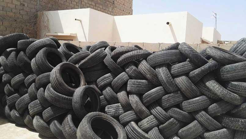 E-cover, startup de recyclage des pneus usagés