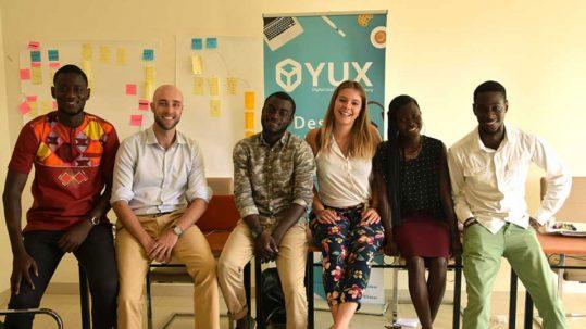 L'équipe YUX Dakar développe l' UX au Sénégal