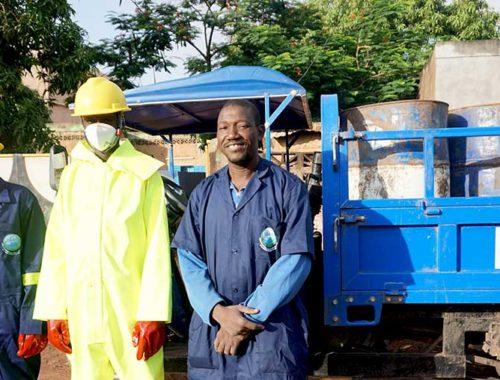 Vidangeurs de Ouagadougou