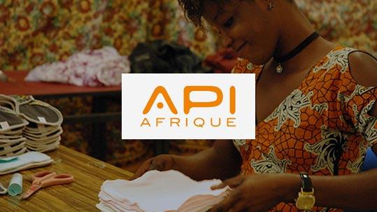 Sekou soutient ApiAfrique
