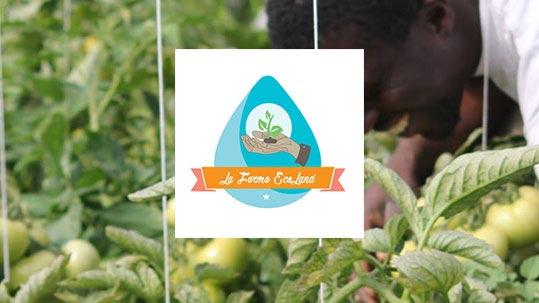 Sekou soutient la ferme Ecoland