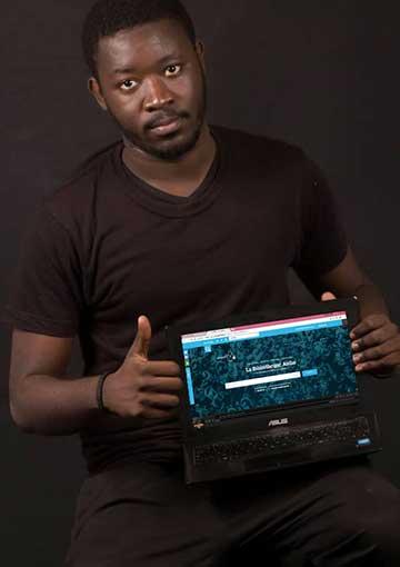 Mamadou Dione, fondateur de JokkoText