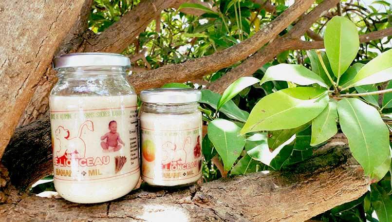 Le Lionceau propose des aliments seins, bio produits au Sénégal