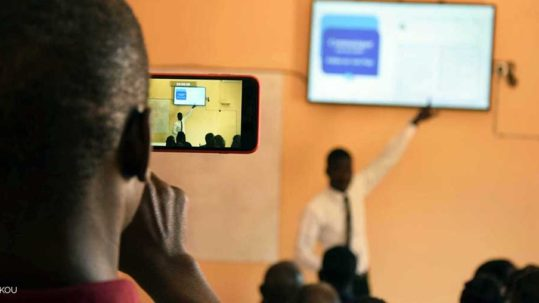 Programme accompagnent startup Afrique